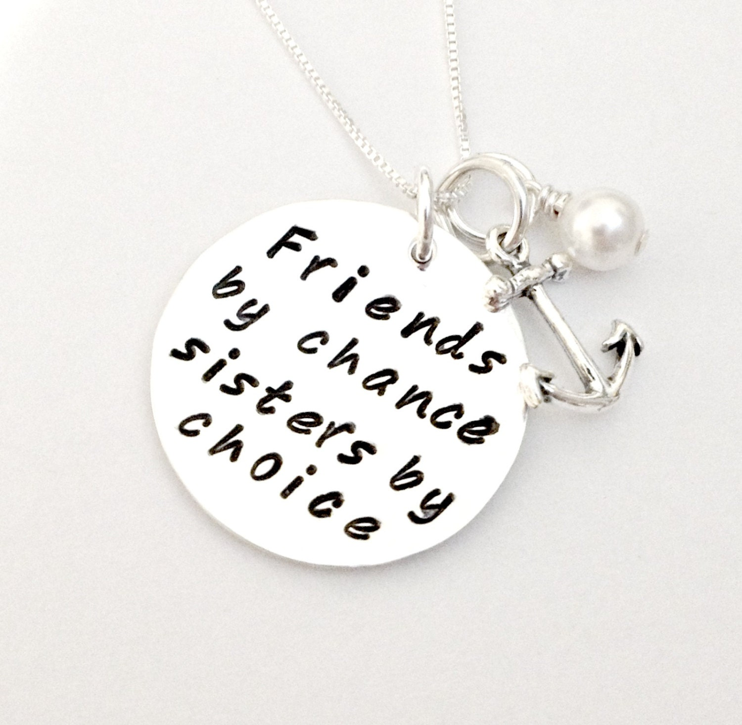 Quotes About Pearls And Friendship Friendschance Sisterschoice Personalized Hand