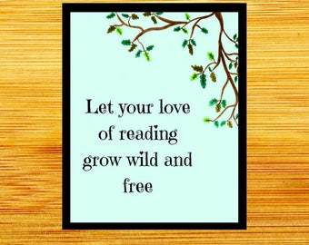 Love of Reading Quote