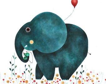 reading the blue elephant