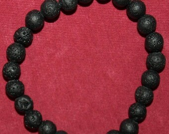 Lava stone Diffuser Stretch Bracelet