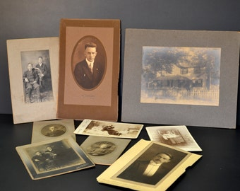 1900's Cabinet Cards of Brothers and the Story of a Family Tragedy