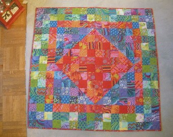 Bright Quilted Wallhanging