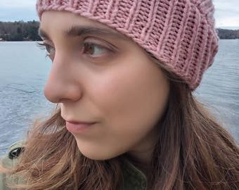 Knitted Ear-warmer Headband