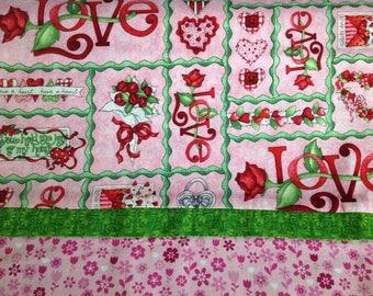 Valentines pillowcase