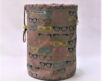 XL Knit Sack in Where's My Glasses II