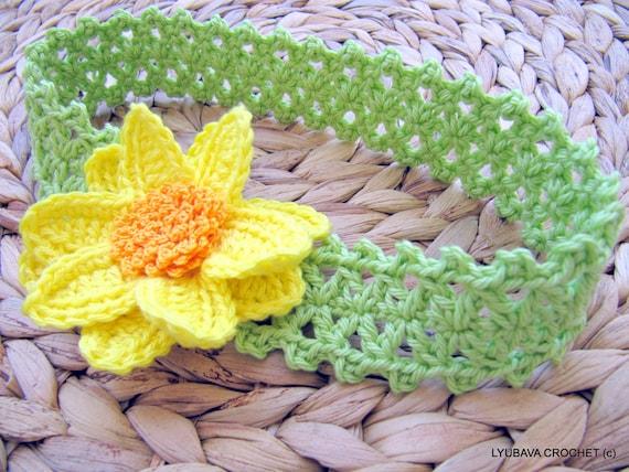 Crochet flower headband pattern baby headband pattern spring crochet flower headband pattern baby headband pattern spring crochet pattern baby girl crochet diy gift instant download pdf pattern 80 mightylinksfo Choice Image