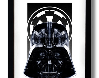 Star Black Empire Art Print by RUBIANT