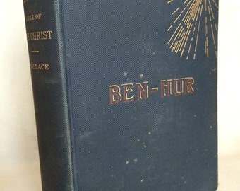 1st Edition Ben Hur A Tale of the Christ by Lew Wallace