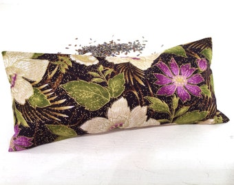 Organic Lavender Eye Pillow, spa accessories, heat pack, aromatherapy, cold pack, meditation, yoga gift, yoga accessory, restorative gifts