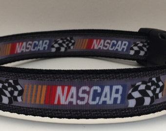 NASCAR Racing Dog Collar