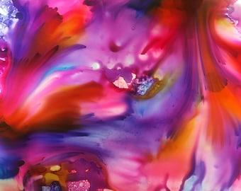 mixed media art by AnnaMarie
