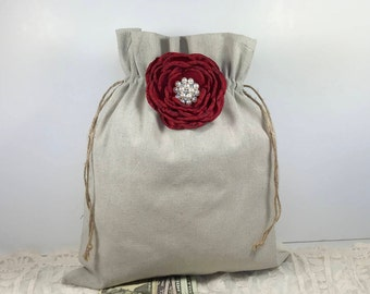 Wedding Money Bag, Bridal Money Bag, Wedding Money Dance Bag, Wedding Accessories, Money Bag, Burlap Wedding, Rustic Wedding, Dollar Dance