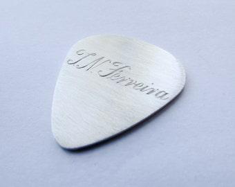 Engraved guitar pick personalized pick custom guitar pick personalized guitar pick music gift for him guitar gift personalized plectrum
