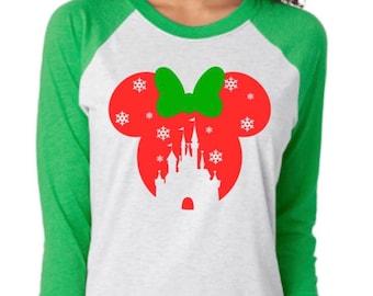 Disney christmas shirt
