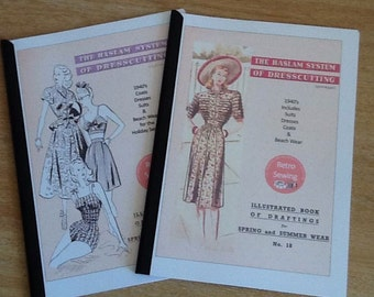 The Haslam System of Dresscutting - Printed Booklets