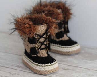 "Cool CROCHET PATTERN ""Summit Snowboots"" Intrepid Boots PATTERN only"