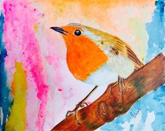 Robin's dream Giclee print