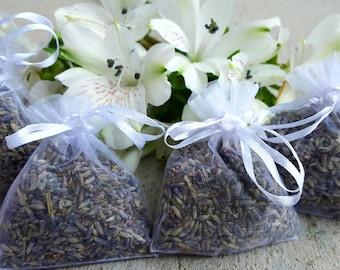 Organic Lavender Sachets l Single Pack l Bulk l Air Freshener l Aromatherapy