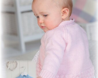 Baby Cardigan in DK