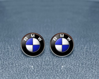 BMW Cufflinks - BMW -BMW Cuff links - bmw logo  Cufflinks - bmw lover gift