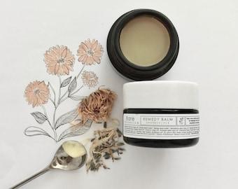 REMEDY BALM ~Organic~Multipurpose face & body balm~Soothe~Repair~Nourish~Oil Cleansing Balm~Healing~Nourishing   Vegan  