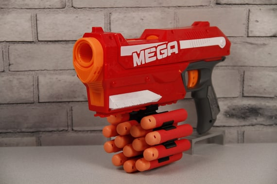 Well known 3D Printed 14 Round Mega Dart Holder for Nerf Gun CR68