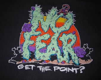 1993 NO FEAR SHIRT - sz s/youth xl - vintage totally 90s tee