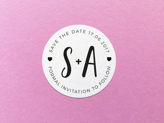 Save the date sticker wedding stamp sticker custom wedding sticker personalised wedding sticker envelope seals save the date stickers from