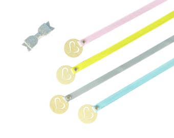 SECOND RIBBON FOR - Wood Hair Bow Hanger - Hair Bow - Holder - Hair Clips - Cloud or Oval - Hair Accessory Storage - Hair Clips