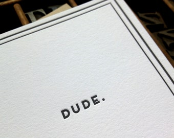 Dude: Cards for Dudes