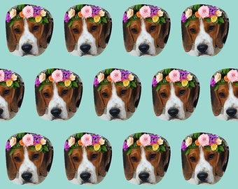 Beagle Flower Crown