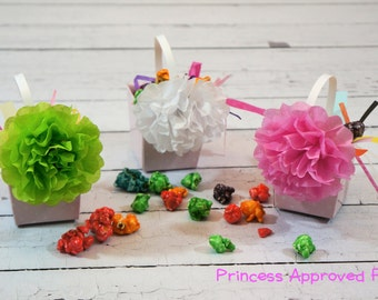 Paper Flower Clips, Pack of 4 Size Small