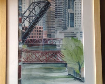 Kinzie's Street Bridge, Chicago