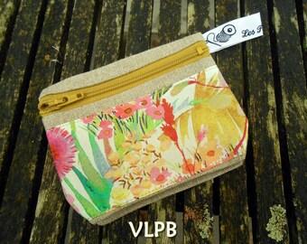 Door wallet linen and liberty Tresco