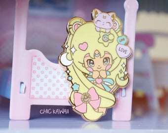 Chic Kawaii Sailor moon style pin