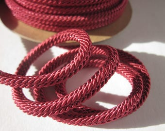 1 meter of braided cotton reinforced with 4 mm thick (144)