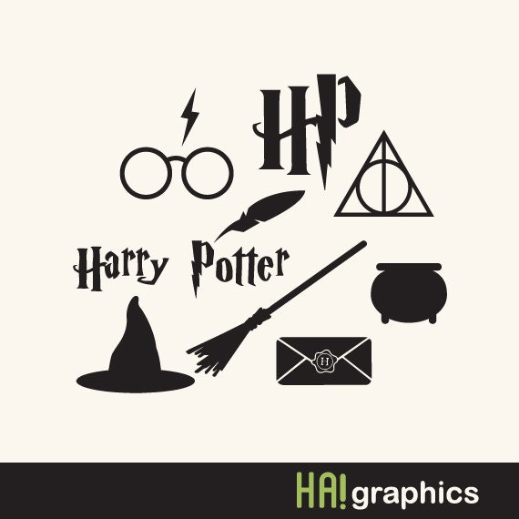 png svg and dxf file harry potter set logo hogwarts