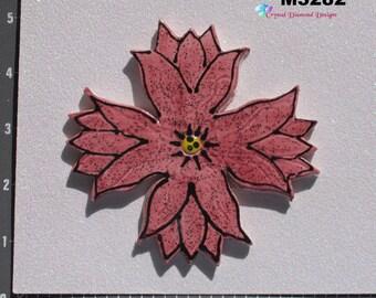Flower - Kiln Fired Handmade Ceramic Mosaic Tiles M3282