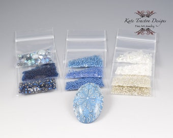Inspiration Kit #95, Polymer Clay, Crystals