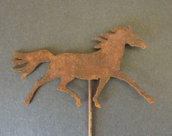 Horse Flower Pot Sticker