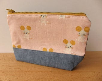 Happy Little Mouse Notions Zipper Pouch