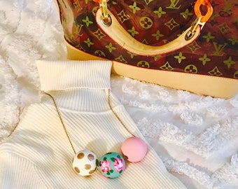 The Lilly Collective Bauble Necklace