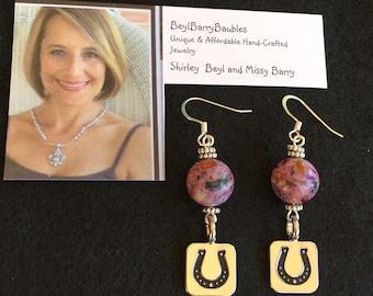 Horse lover earrings