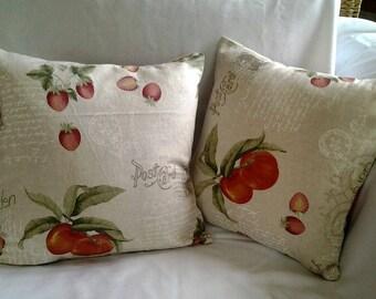 Pillow Cover Fruit Garden