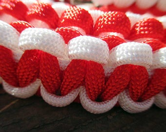 Red White and Blue Horse Paracord tack Set