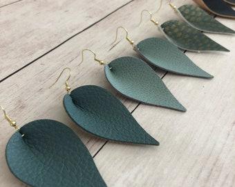 the Meryl earrings-blues
