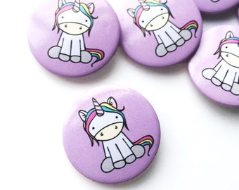 Super Cute Pin Badge Unicorn Gift Party Favour Accessories Wedding Favour Button Badge Unicorn Accessory