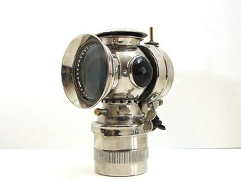 Victorian Bicycle Head Lamp by Solar, 19th Century
