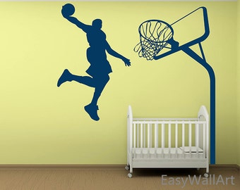 Bon Basketball Wall Decal   Basketball Decal, Sports Wall Decal,Vinyl Wall  Decals,Vinyl