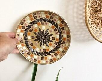 Small Mosaic Plate